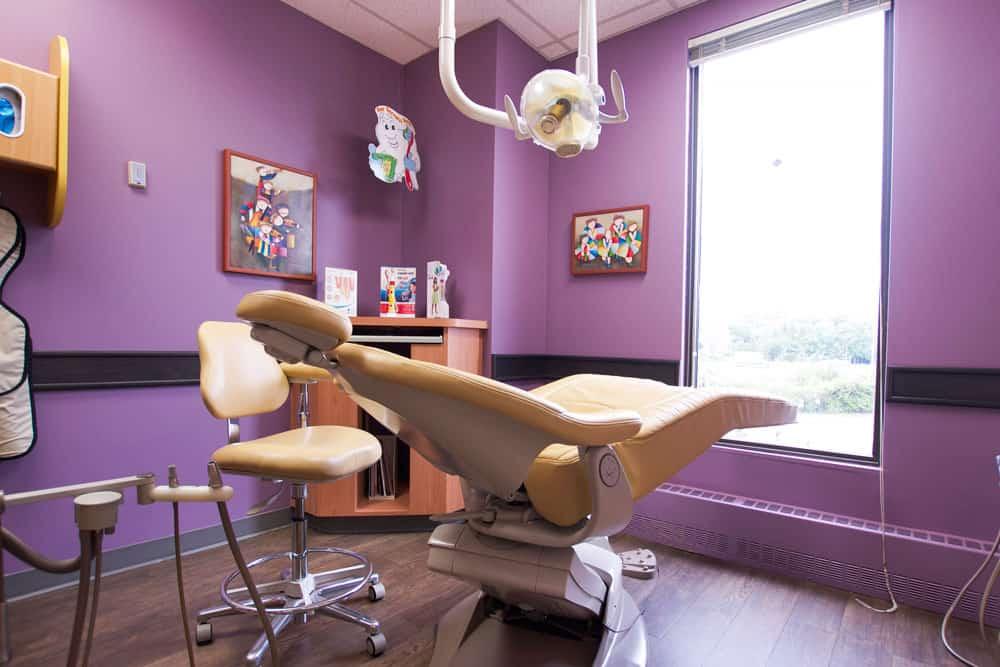 Dental chair - Just 4 Kidz Dental